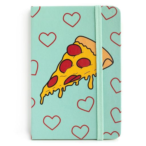 Notebook I saw this - Pizza