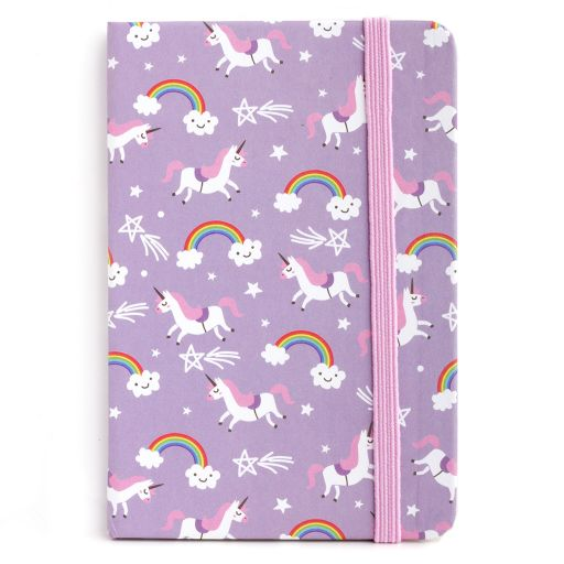Notebook I saw this - Unicorn & Rainbows