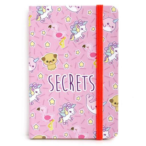 Notebook I saw this - Secrets