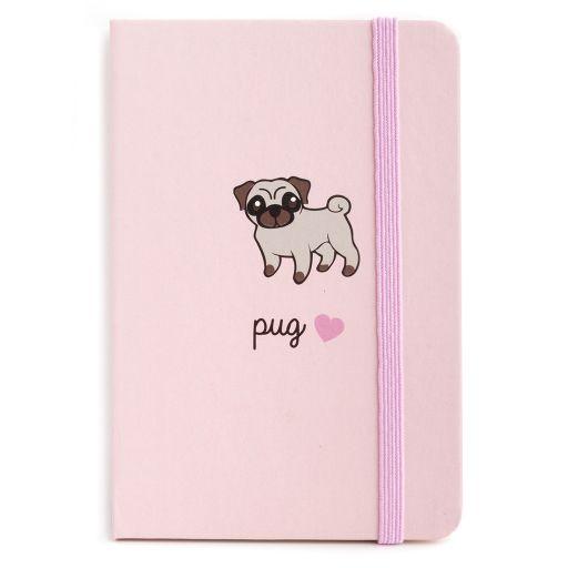 Notebook I saw this - Pug (