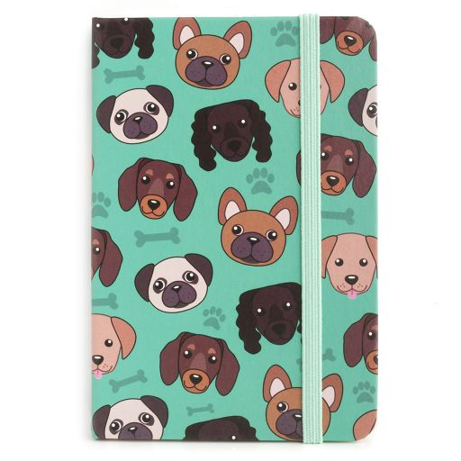 Notebook I saw this - Dog Print