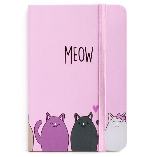 Notebook I saw this - Meow