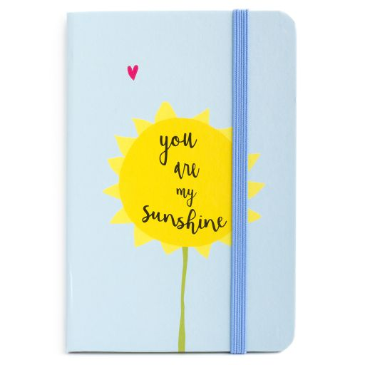 Notebook I saw this - You are my Sunshine