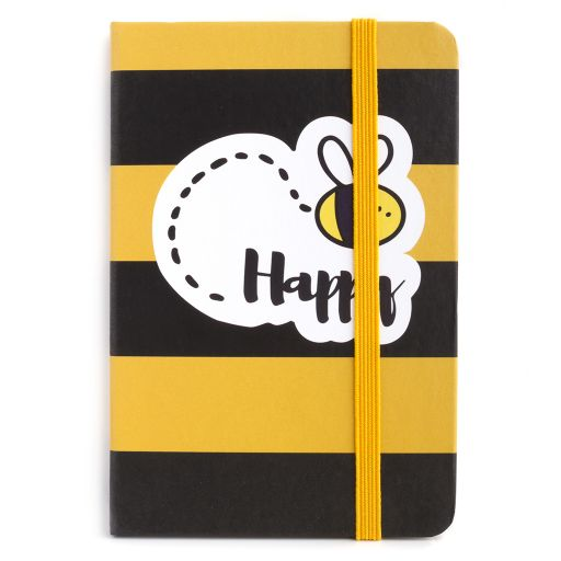 Notebook I saw this - Bee Happy