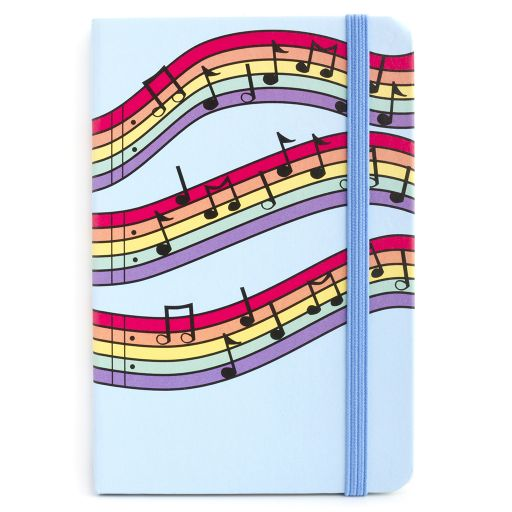 Notebook I saw this - Musical Notes