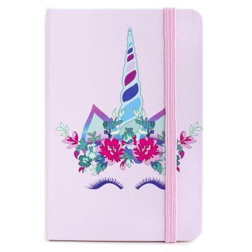 Notebook I saw this - Flower Unicorn (