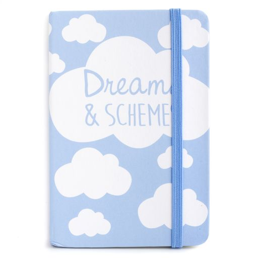 Notebook I saw this - Dreams & Schemes