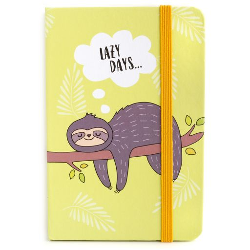 Notebook I saw this - Sloth Lazy Days