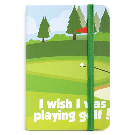 Notebook I saw this - Golf
