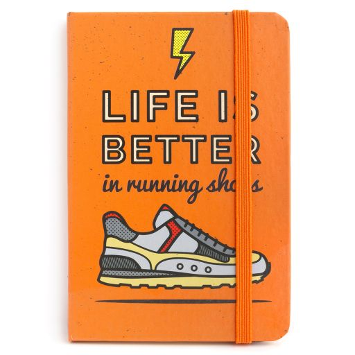 Notebook I saw this - Running