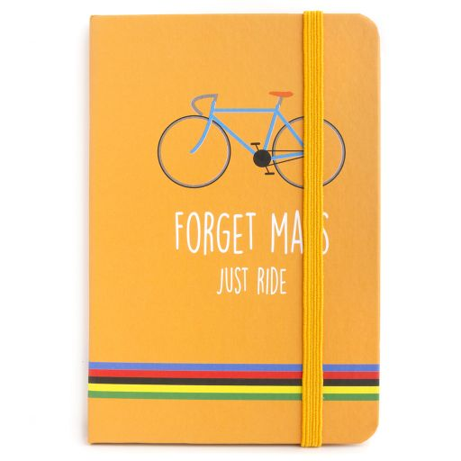 Notebook I saw this - Just Ride