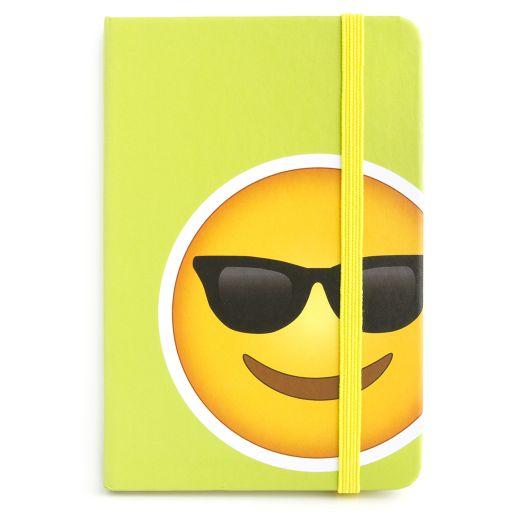 Notebook I saw this - Sunglasses Emoji