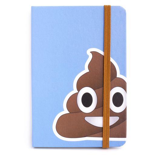 Notebook I saw this - Emoji Poo