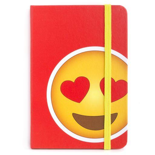 Notebook I saw this - Heart Eyes Emoji