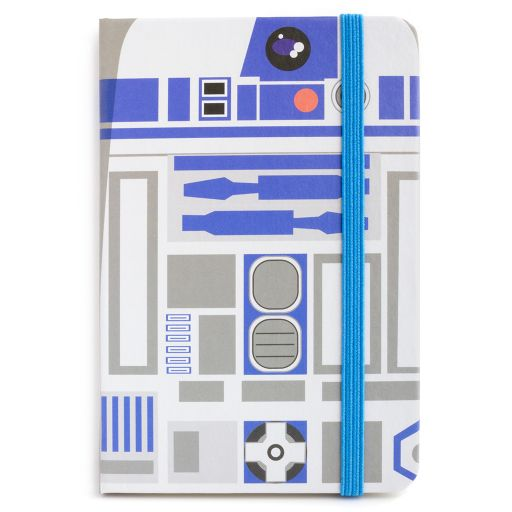 Notebook I saw this - R2D2