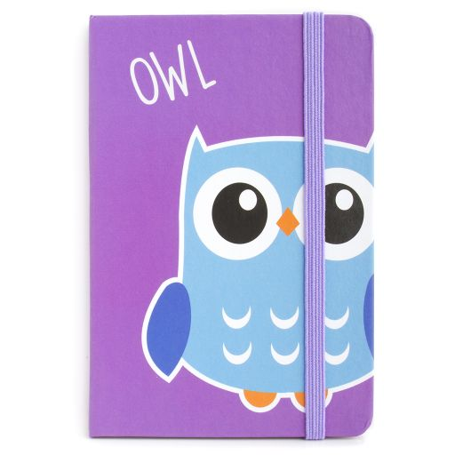 Notebook I saw this - Owl