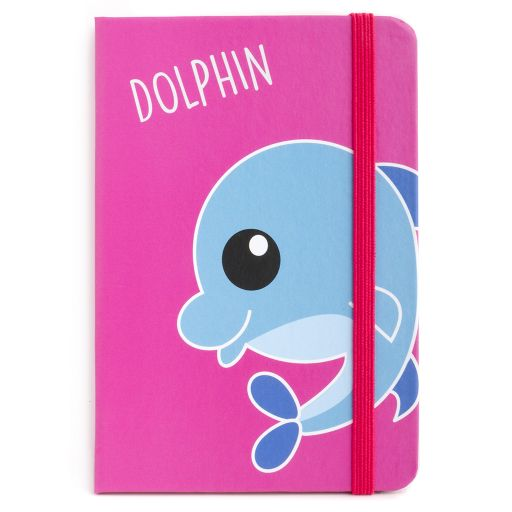 Notebook I saw this - Dolphin