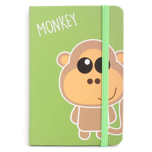 Notebook I saw this - Monkey