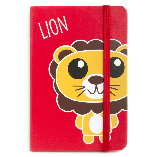 Notebook I saw this - Lion