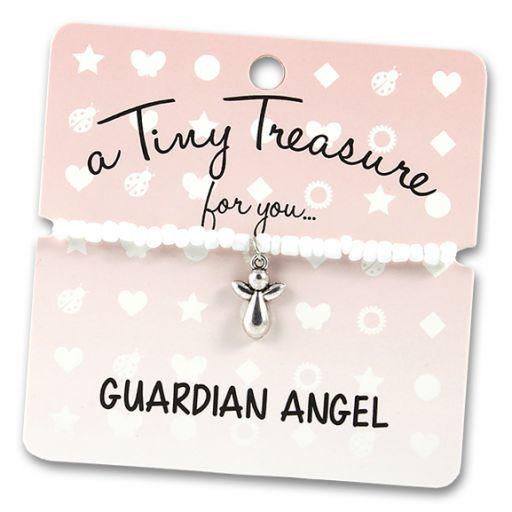 TT80- Tiny Treasure armband Guardian Angel