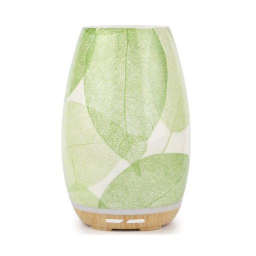 Aroma Diffuser - Green Leaves ** NIEUW ** EIND JULI BINNEN!