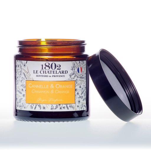 LC1802 - Candle Scented - BAUT-006 - Canella-Orange - 80 gram