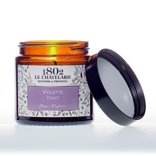 LC1802 - Candle Scented - BAUT-061 - Violet - 80 gram