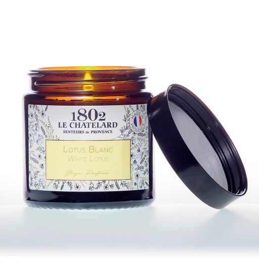 LC1802 - Candle Scented - BAUT-121 - White Lotus - 80 gram