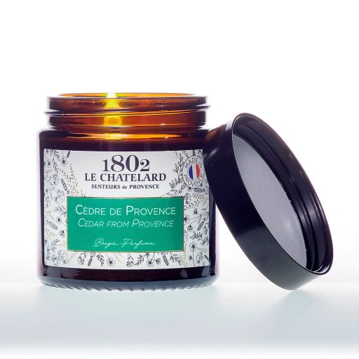 LC1802 - Candle Scented - BAUT-129 - Cedar from Provence - 80 gram