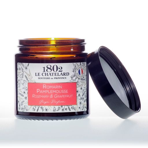 LC1802 - Candle Scented - BAUT-201 - Rosemary-Grapefruit - 80 gram