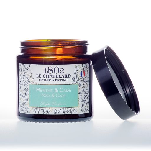 LC1802 - Candle Scented - BAUT-207 - Mint-Cade (hout)- 80 gram