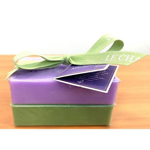 Le Chatelard 1802 - DB-041- Zeep - Duo - 100 gram - Lavender-Olive OP=OP