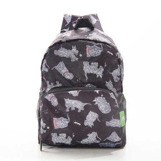 Eco Chic - Mini Backpack - G03BK - Black - Scatty Scotty