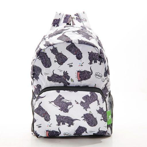 Eco Chic - Mini Backpack - G03WT  White - Scatty Scotty