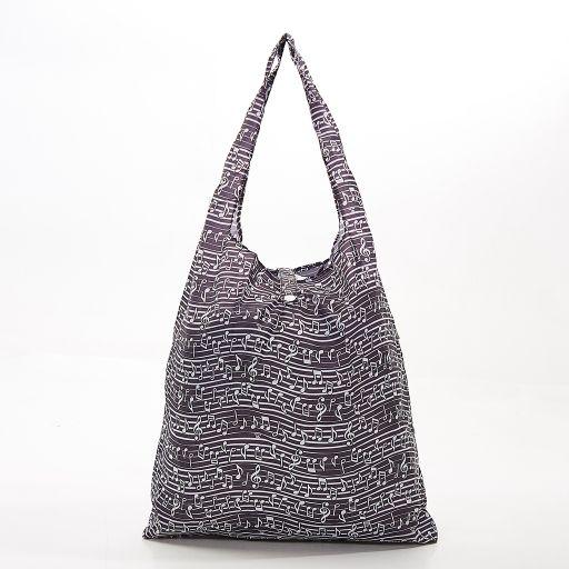 Eco Chic - Foldaway Shopper - A10BK - Black - Music