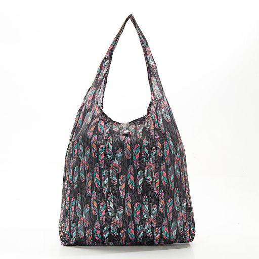 Eco Chic - Foldaway Shopper - A22BK - Black - Feather