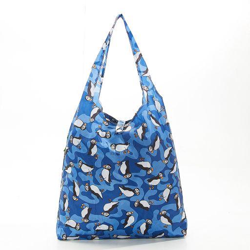 Eco Chic - Foldaway Shopper - A29BU - Blue - Puffin