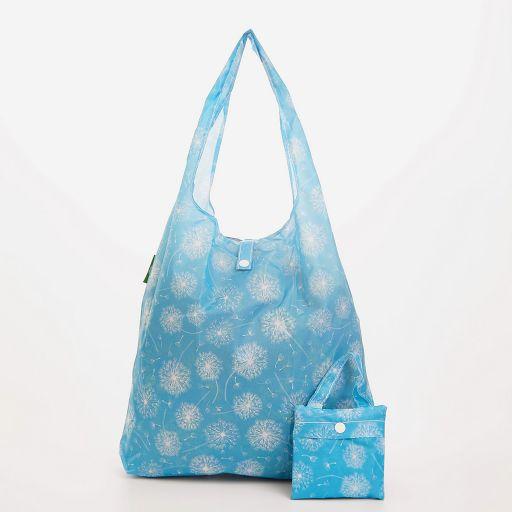Eco Chic - Foldaway Shopper - A36BD -  Blue - Dandelion