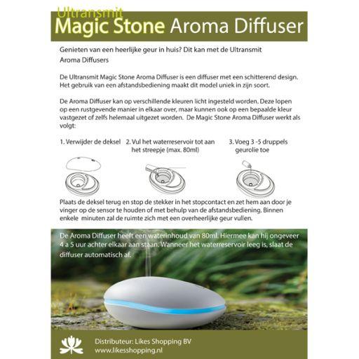 ST12 - Informatiekaart - Aroma Diffuser Magic Stone