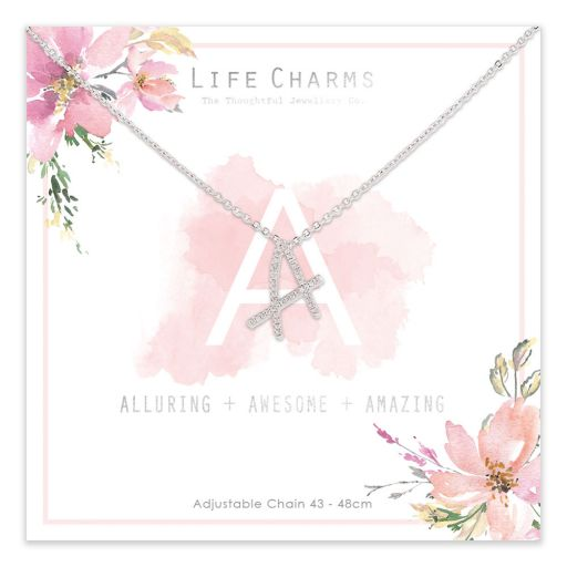 483001- Life Charms - ANA - Collier - letter A