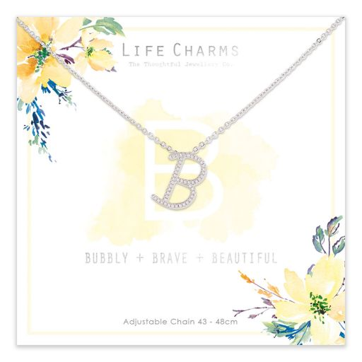 483002- Life Charms - ANB - Collier - letter B