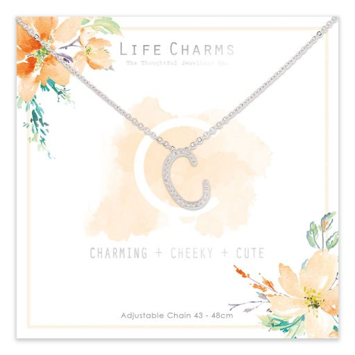483003- Life Charms - ANC - Collier - letter C