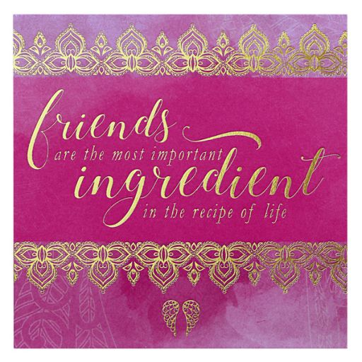You are an Angel - ANCM021 Mini Wenskaart - Friends are the most important