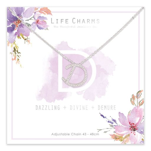 483004- Life Charms - AND - Collier - letter D