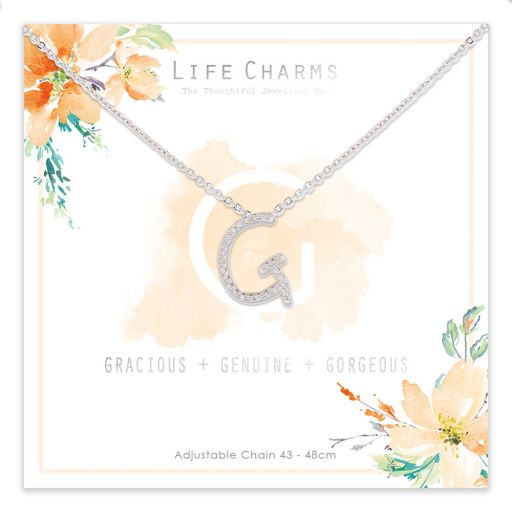 483007- Life Charms - ANG - Collier - letter G