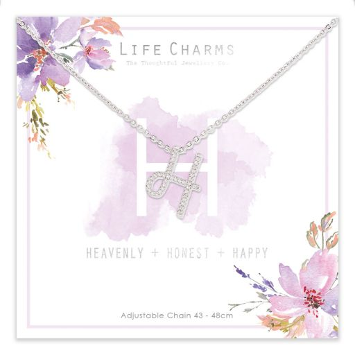 483008- Life Charms - ANH - Collier - letter H