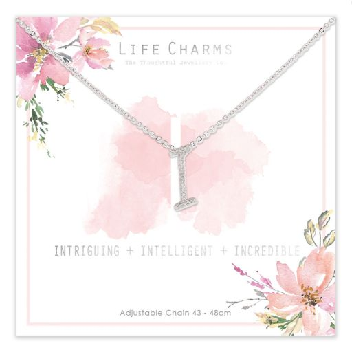 483009- Life Charms - ANI - Collier - letter I