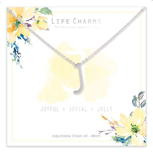 483010- Life Charms - ANJ - Collier - letter J