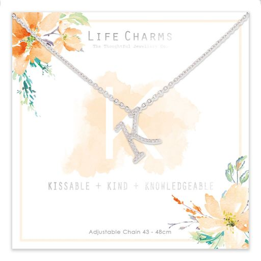 483011 - Life Charms - ANK - Collier - letter K