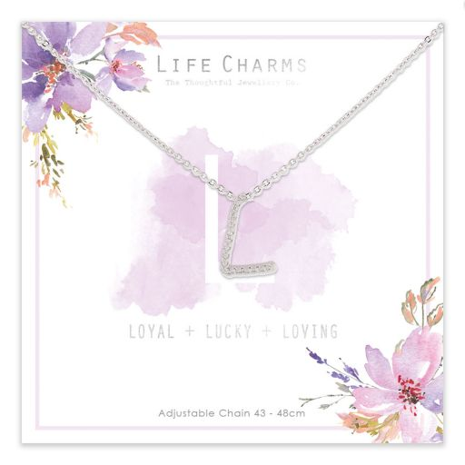 483012 - Life Charms - ANL - Collier - letter L